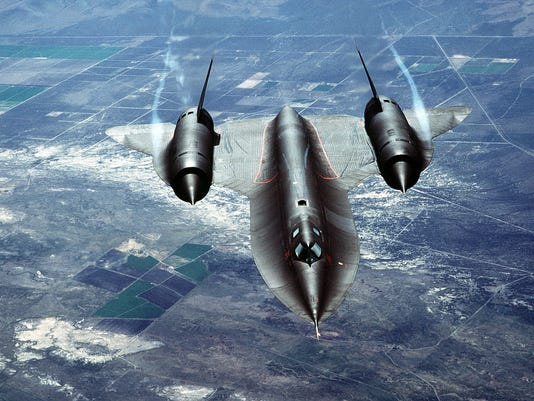 SR-71A In Flight