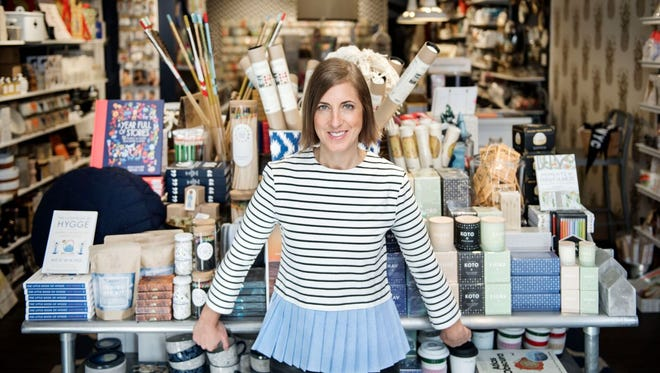 Ann Cantrell, owner of Annie's Blue Ribbon General Store in Brooklyn, New York.