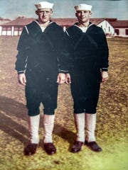 Photo of Stanley Miller and his brother, Jesse, who