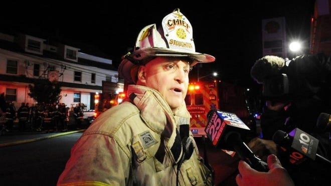 Stoughton Fire Chief Michael Laracy is retiring after a 34-year career in the fire service, with the last four leading the Stoughton Fire Department.