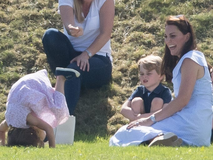 Duchess  Kate of Cambridge enjoyed an afternoon of