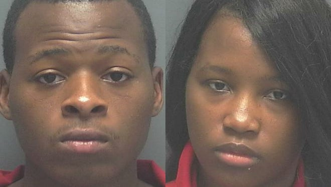 Timothy Henderson and Latrice Luster, both 19