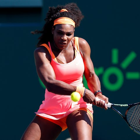 Serena Williams won 51 of 65 points against CiCi Bellis.