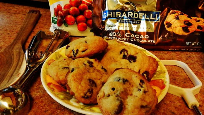 Chocolate Chip Cranberry Cookie.