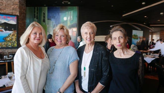 Debbie Cox, Vicki Pollard, president Karen Gonzales, and Susan Meyer.