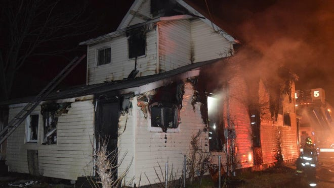 Two cats were killed and a dog went missing after a house fire on the north side.