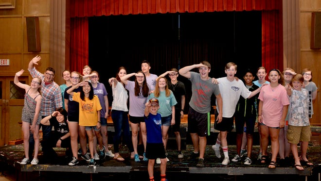 "The cast of the Summer Youth Musical premiere the classic musical ""The Music Man"" at 7 p.m. tonight at the First United Methodist Church's Fellowship Hall."