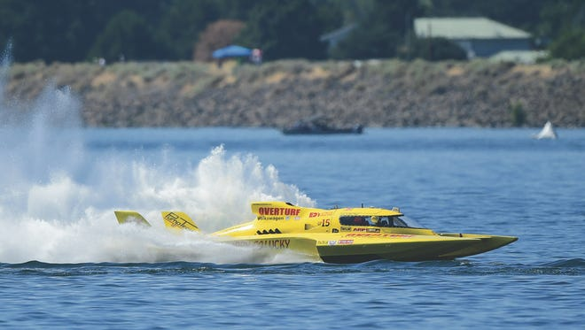 Jerry Hopp will join his son, Greg, at HydroFest