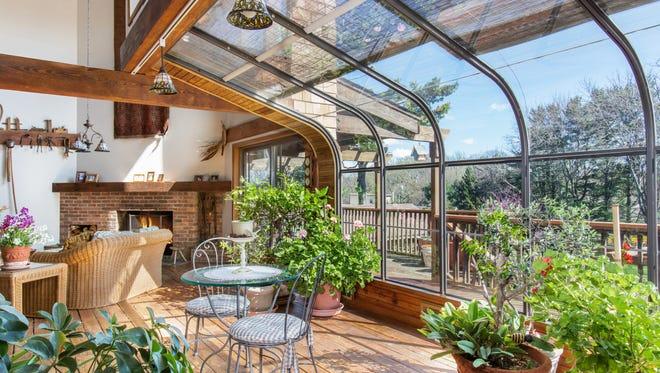 Enjoy natural light inside this Holmdel home.