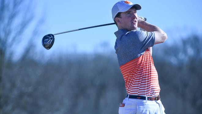 Stephen Behr of Florence is one of five in-state products who comprise Clemson's starting lineup for the men's golf team.