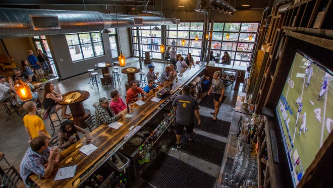 Titletown Brewing in Green Bay explores options for investors or sale as revenue drops inside the taproom and rooftop bar.