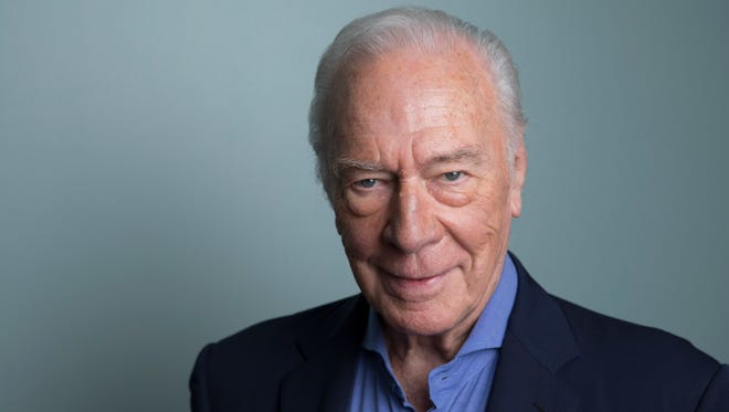 "In this June 11, 2018 photo, Christopher Plummer poses for a portrait to promote his film ""Boundaries"" in New York. (Photo by Amy Sussman/Invision/AP)"