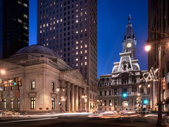 Exterior of courtesy of The Ritz-Carlton, Philadelphia