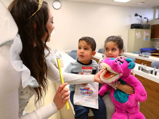 The Middlesex County College dental clinic was the