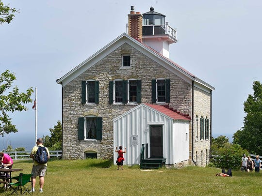 The lighthouse was building in 1836 and is the oldest