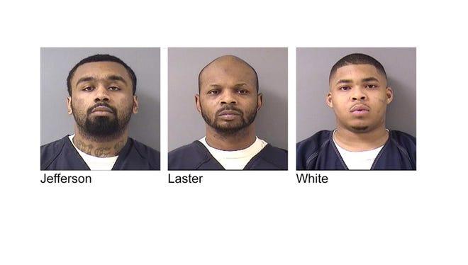 Nokomis Lee Jefferson, Vance Diwayne Laster, William Demont White, Jr.