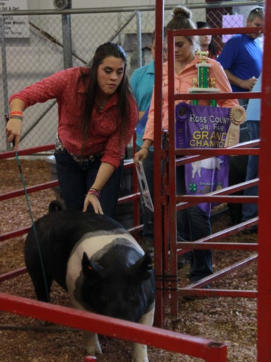 Highlights of the 2017 Ross County Fair Jr. Fair Swine