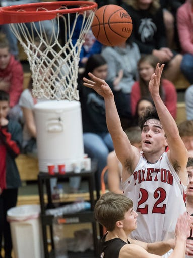 Eastern defeated Piketon Friday night at Waverly High