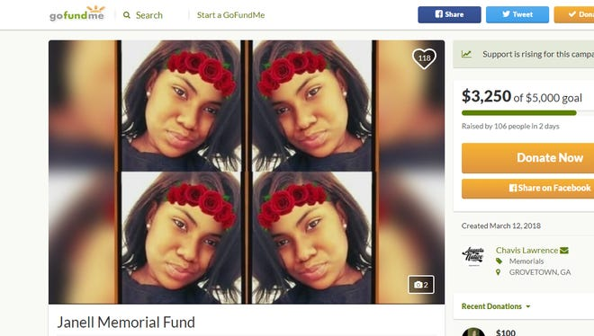 LaTania Janell Carwell, 16, had been missing since April 17, according to police. Her remains were found in a shallow grave on March 14, 2018. Her parents have been arrested in connection with her disappearance.