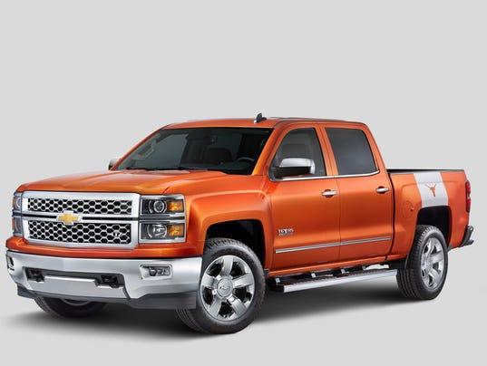 2015 Chevrolet Silverado University of Texas Edition