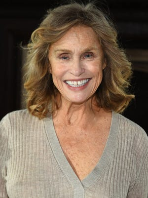Lauren Hutton on Feb. 14, 2017.