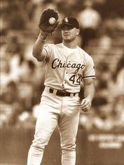 Dan Pasqua with the White Sox