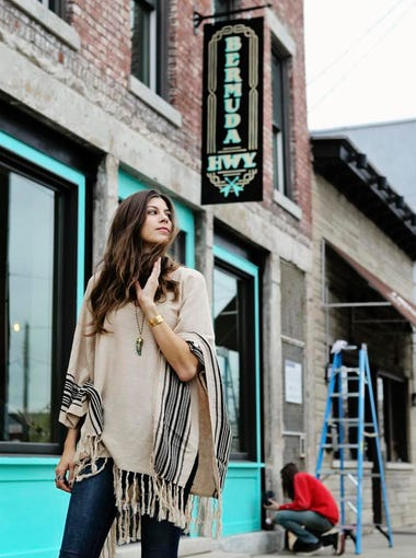 Katie Toupin, lead singer for Houndmouth, has turned