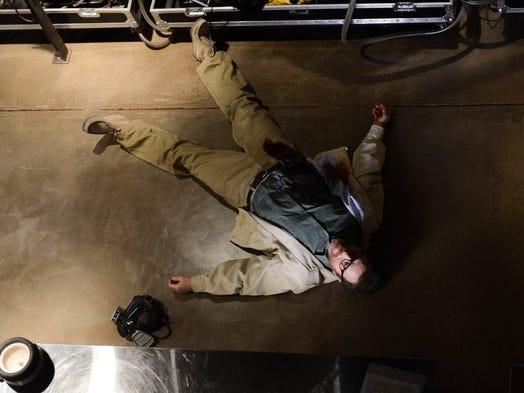 Walter White (Bryan Cranston) met his end in a meth lab in the series finale of AMC's 'Breaking Bad.'