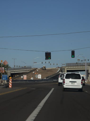 The Bell Road/Grand Avenue overpass in Surprise opened Nov. 22, 2016, after seven months of heavy construction and road closures.