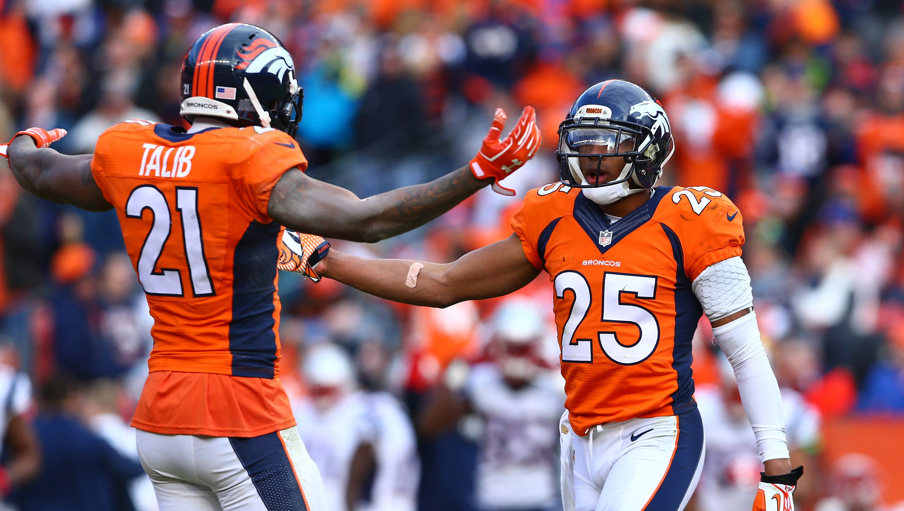 Aqib Talib Chris Harris In Sync On Broncos Super Bowl