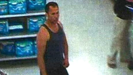 A Florida man accused of using a cell phone to look up a woman's skirt in a Burlington Township Walmart was arrested Sunday. Police need help identifying other potential victims.
