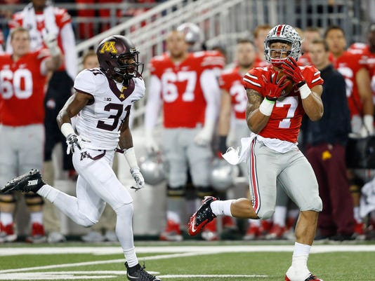 NCAA Football: Minnesota at Ohio State