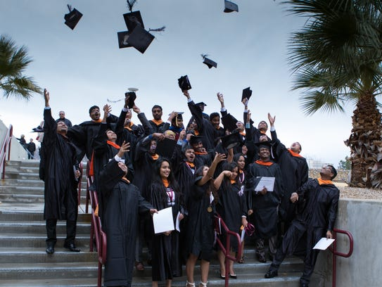 Members of the International Students at NMSU celebrate