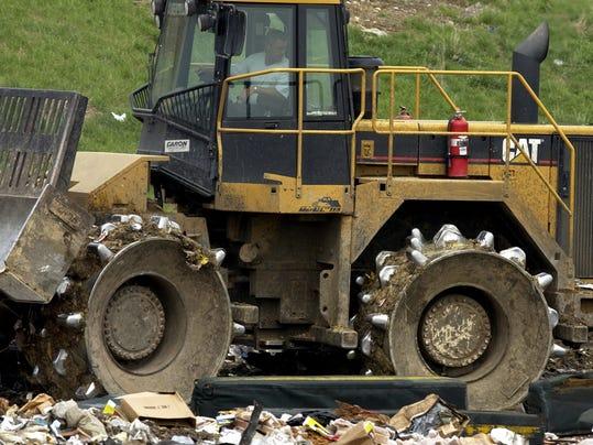 Richmond Sanitary District compactor