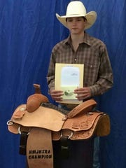 Fifteen-year-old Tadd Dictson takes home a second place finish at the YBR World Finals Rodeo.