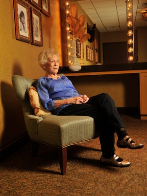 Country singer Jean Shepard at the Grand Ole Opry House talks about her years in the biz and on the Opry in Nashville, Tenn. November 2, 2015.