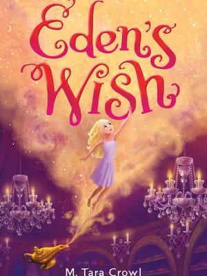 """Eden's Wish"" book cover"