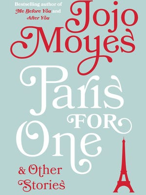 Here's a first look at the jacket for 'Paris for One and Other Stories' by Jojo Moyes