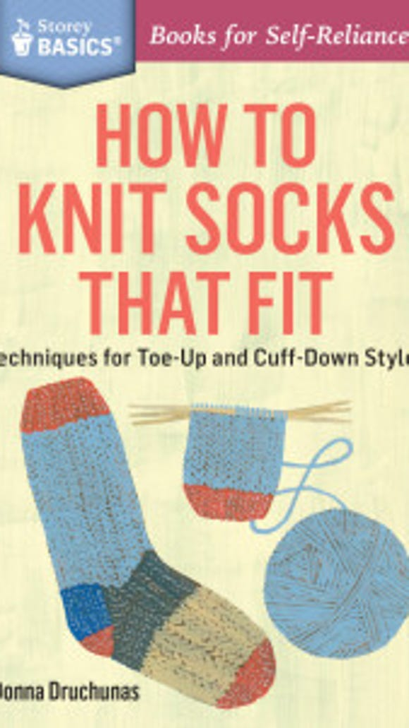 Dna Druchunas has written a very useful, compact guide to making socks.