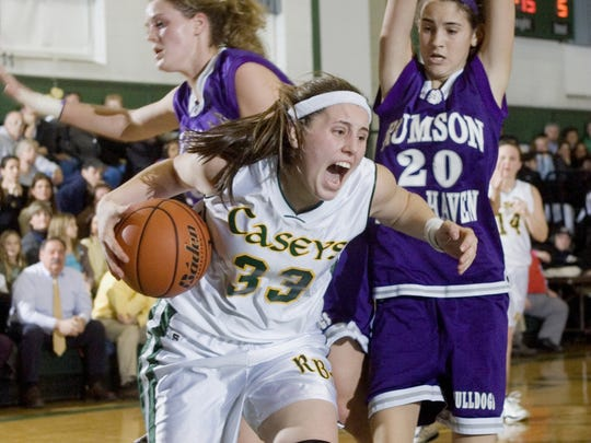 Red Bank Catholic's Kristina Danella was a four-time