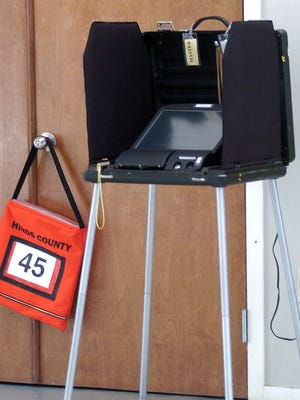 A voting machine