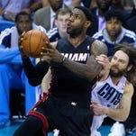 2014 NBA playoffs: Miami Heat vs. Charlotte Bobcats