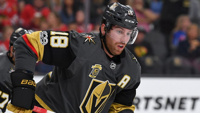 James Neal had 77 goals and 136 points in three seasons with the Predators.