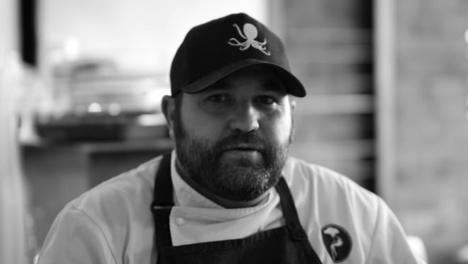 Andy Hayes, executive chef at Barcelona Wine Bar in Edgehill Village.