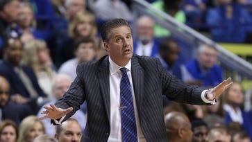 Kentucky Wildcats head coach John Calipari.