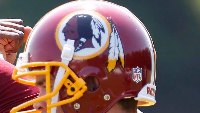 The Redskins logo