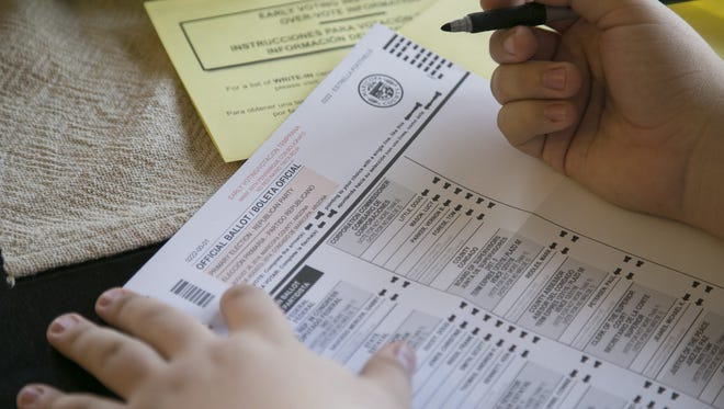 Arizona follows a system to prevent voter fraud.