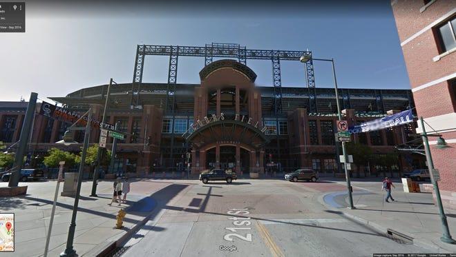 Colorado: Coors Field, Denver.