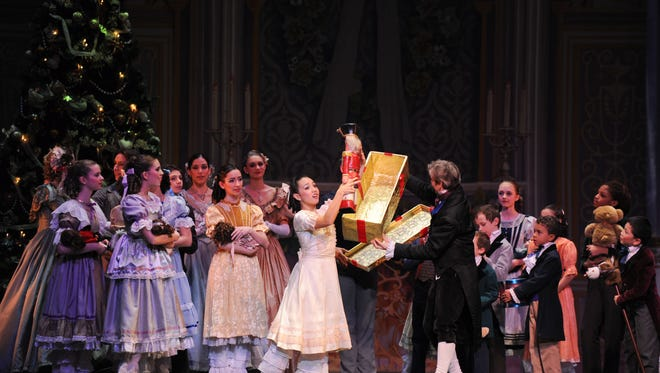 """Nicole Ryu as Clara in a scene from last year's """"Nutcracker,"""" presented by the New Jersey Ballet at the Mayo Performing Arts Center. VAM PRODUCTIONS"""