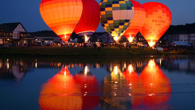 The 2016 Franklin Hot Air Balloon Festival was held around the lake at Westhaven on Saturday, May 15. This year's festival is set for Saturday, July 29.